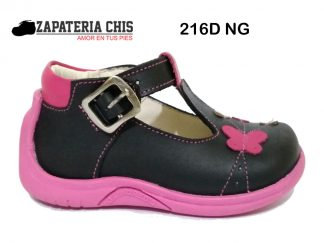 216D NG calzado en cuero para bebé niña