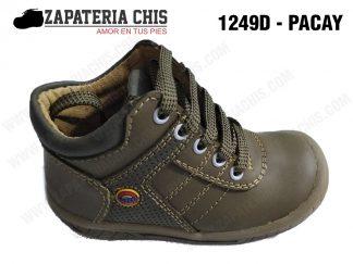 1249 - PACAY calzado en cuero para niño