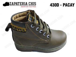 430 - PACAY calzado en cuero para niño