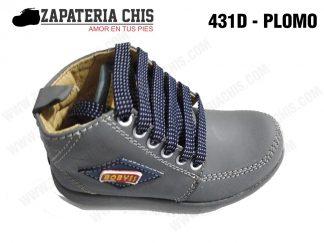 431 - PLOMO calzado en cuero para niño
