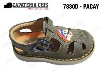 7830 - PACAY calzado en cuero para niño